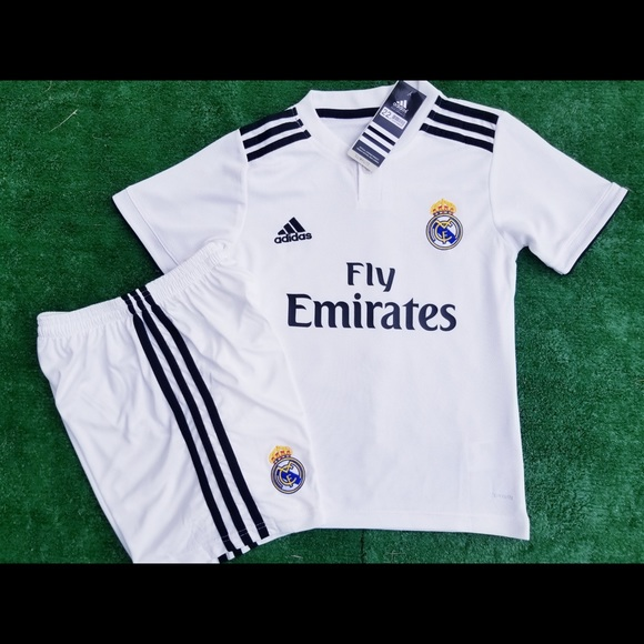 2b8717535acfe Real Madrid kids soccer jersey Isco youth soccer